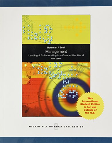 9780071220620: Management: Leading and Collaborating in the Competitive World