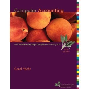 9780071220637: Computer Accounting with Peachtree by Sage Complete Accounting 2011