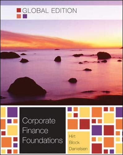 Corporate Finance Foundations: Stanley B. Block,