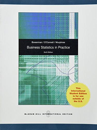 9780071220651: Business Statistics in Practice
