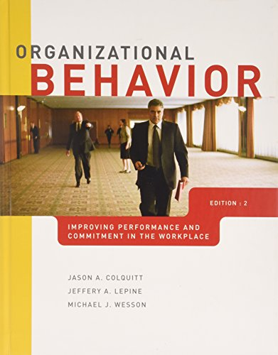 9780071220699: Organizational Behavior: Improving Performance and Commitment in the Workplace