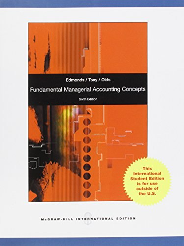 9780071220729: Fundamental Managerial Accounting Concepts