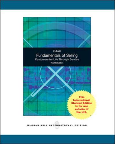 9780071220804: Fundamentals of Selling