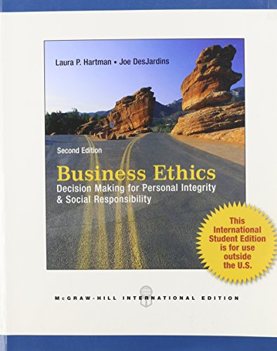 9780071220828: Business Ethics: Decision-Making for Personal Integrity and Social Responsibility