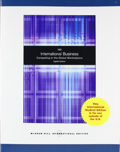 9780071220835: International Business: Competing in the Global Marketplace