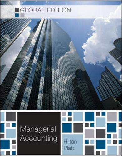 9780071220866: Managerial Accounting - Global edition