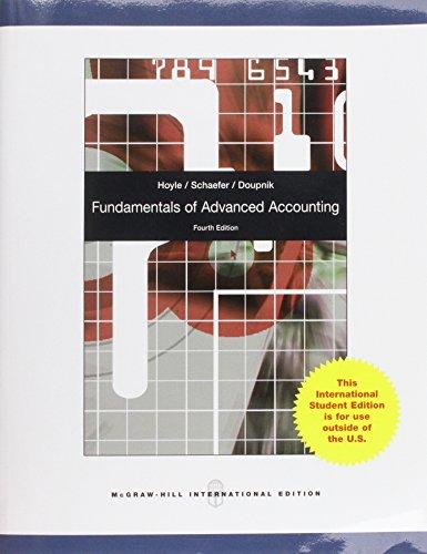 9780071220880: Fundamentals of Advanced Accounting