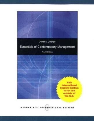 9780071220927: Essentials of Contemporary Management