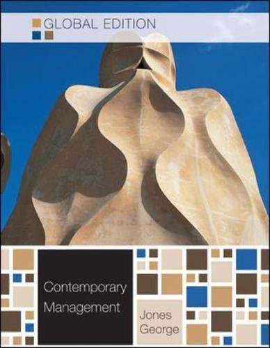 9780071220934: Contemporary Management. Gareth R. Jones, Jennifer George