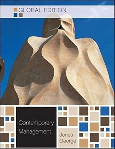 9780071220934: Contemporary Management. Gareth R. Jones, Jennifer George
