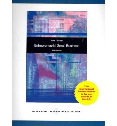 9780071220941: Entrepreneurial Small Business