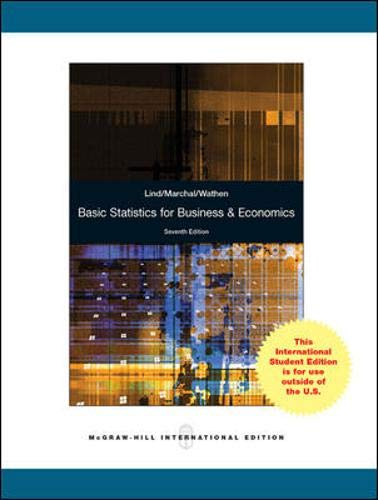 9780071220996: Basic Statistics for Business and Economics