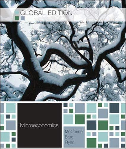 9780071221054: MICROECONOMICS: PRINCIPLES, PROBLEMS, AND POLICIES