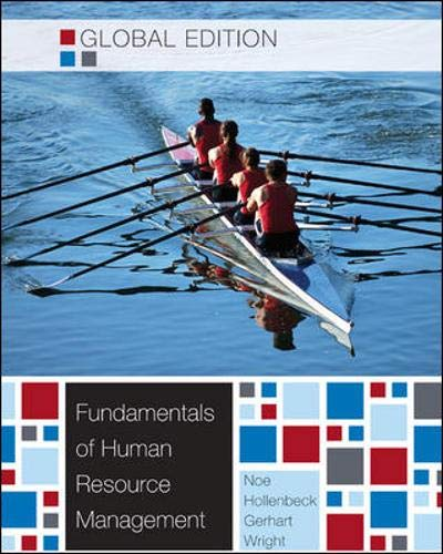 9780071221061: Fundamentals of Human Resource Management. by Raymond Andrew Noe ... [Et Al.]
