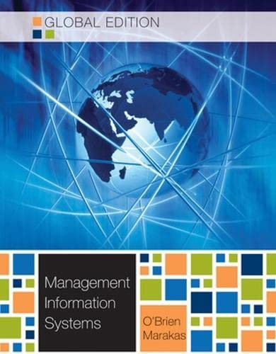 Management Information Systems, Global: O'Brien, James A.,