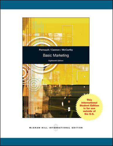 9780071221108: Basic Marketing.
