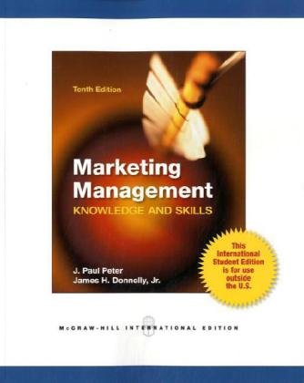 9780071221122: Marketing Management: Knowledge and Skills