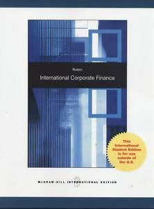 9780071221146: International Corporate Finance