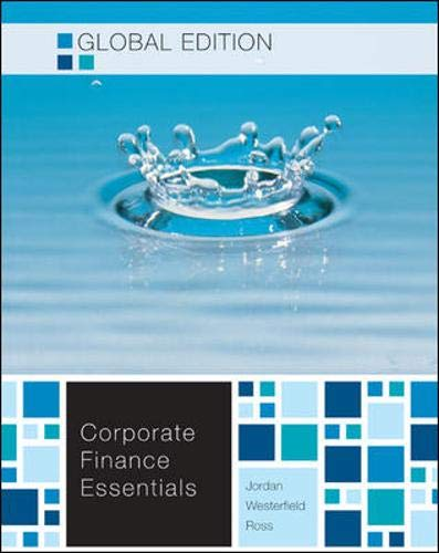 9780071221153: Essentials of Corporate Finance