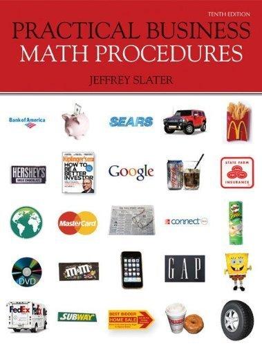 9780071221184: Practical Business Math Procedures
