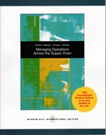 Managing Operations Across the Supply Chain: Swink, Morgan, Melnyk,