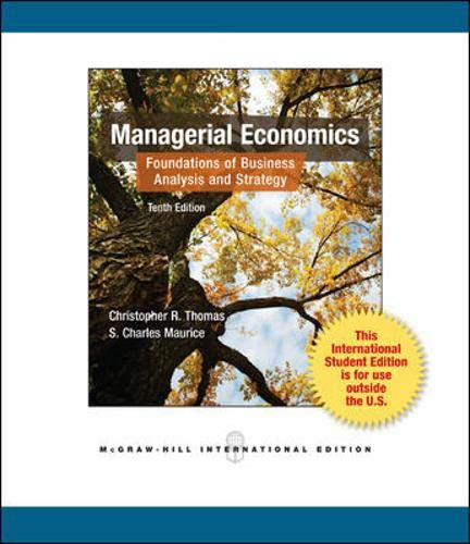 9780071221207: Managerial Economics