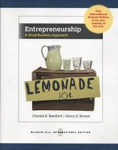 9780071221221: Entrepreneurship: A Small Business Approach