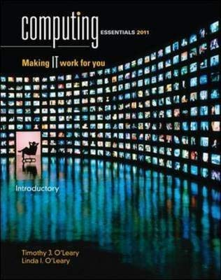 9780071221276: Computing Essentials 2011