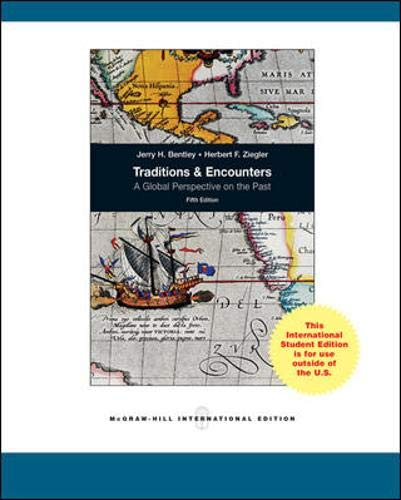 9780071221429: Traditions & Encounters: A Global Perspective on the Past (Int'l Ed)