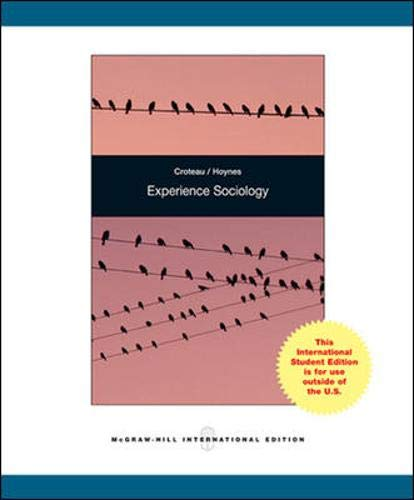 9780071221450: Experience Sociology: A World in Transition