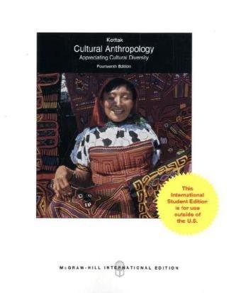 9780071221559: Cultural Anthropology: Appreciating Cultural Diversity
