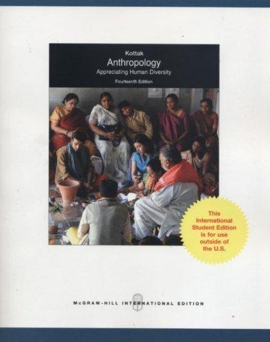 9780071221566: Anthropology: Appreciating Human Diversity