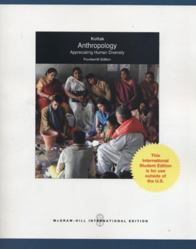 9780071221566: Anthropology: Appreciating Human Diversity