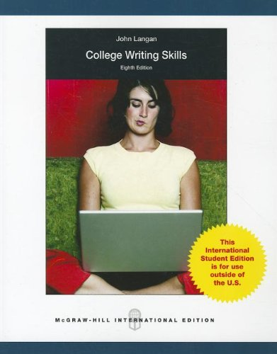 9780071221573: College Writing Skills