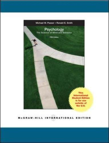 9780071221641: Psychology: The Science of Mind and Behavior