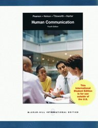 9780071221665: Human Communication