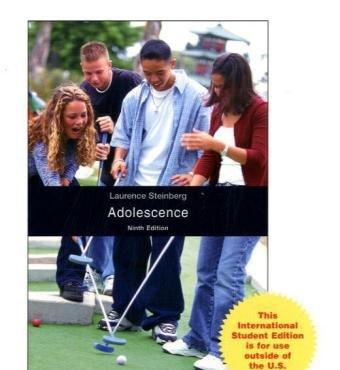 9780071221733: Adolescence