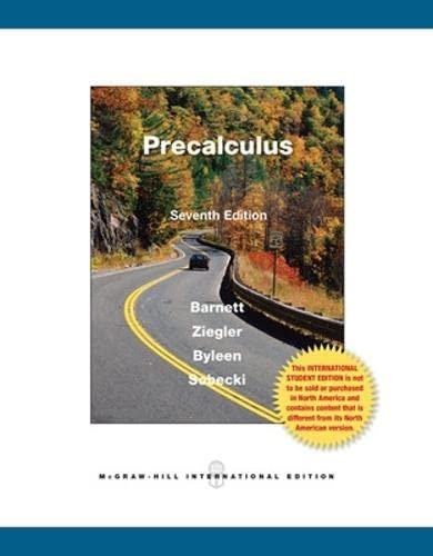 9780071221764: Precalculus