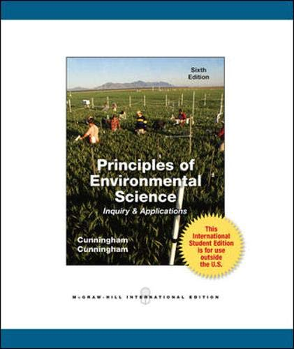 9780071221863: Principles of Environmental Science: Inquiry & Applications