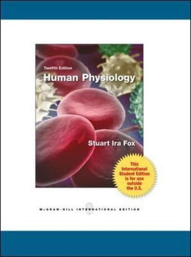 9780071221900: Human Physiology