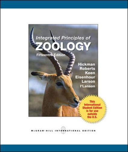 Integrated Principles of Zoology: Hickman Jr., Cleveland P.; Keen, Susan L.; Larson, Allan L.; ...