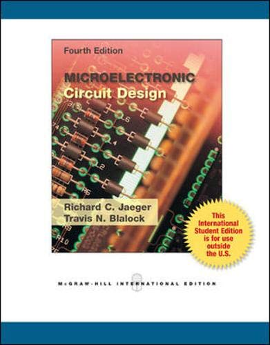 9780071221993: Microelectronic Circuit Design