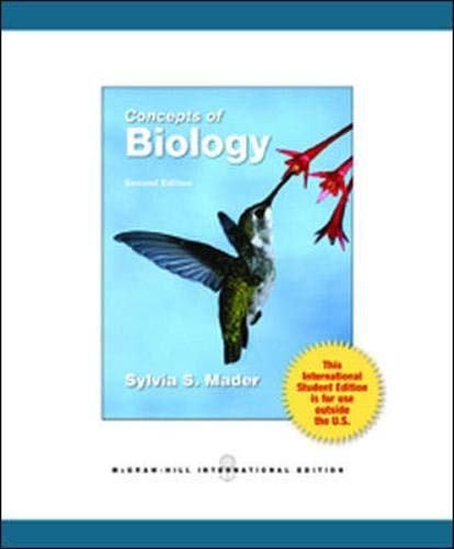 9780071222037: Concepts of Biology