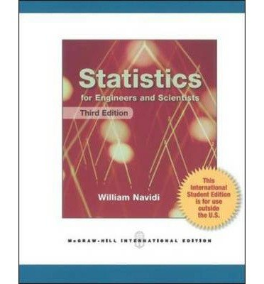 9780071222051: Statistics for Engineers and Scientists