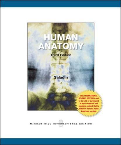 Human Anatomy 3Ed (Ie) (Pb 2011): Saladin K S
