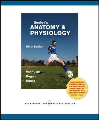 vanputte regan russo - seeleys anatomy physiology 9th edition - AbeBooks