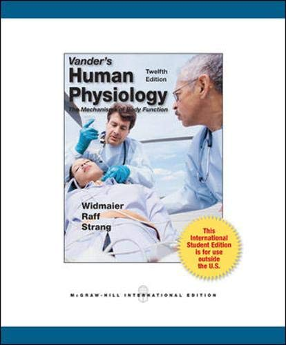 9780071222150: Vander's Human Physiology: The Mechanisms of Body Function