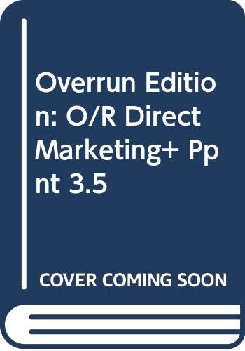 9780071223317: Overrun Edition: O/R Direct Marketing+ Ppnt 3.5