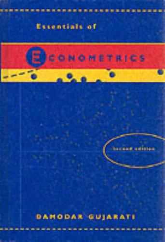 9780071225410: Essentials of Econometrics