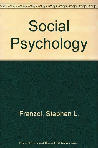 9780071225847: Social Psychology